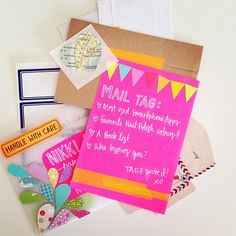 """Snelson Snelson Snelson Harris Runway where passion meets paper's photo: """"It's arrived Made my day Amanda Harris, Mail Tag, Snail Mail Pen Pals, Letter Writer, Fun Mail, Cute Letters, Mail Ideas, Envelope Art, Handwritten Letters"""