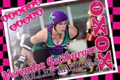 Burger, roller derby, roller radicals, derby girl, skater crush
