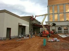 New club being built at the Horseshoe Casino in Bossier City, Louisiana.