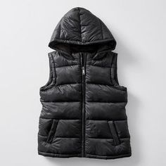 She'll be nice and warm in this zipped, hooded puffer vest. Perfect addition to the winter wardrobe. Puffer Vest, Winter Wardrobe, Kids Girls, Hoods, Chloe, Target, Winter Jackets, Australia, Birthday
