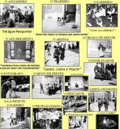 claugisele | PROFISSÕES ANTIGAS 1 - PORTUGAL