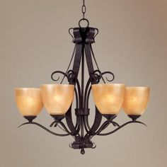 Modella Collection Six Light Chandelier