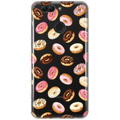 Huawei nova 2 Handyhülle Delicious Donuts Teracell Skin - transparent