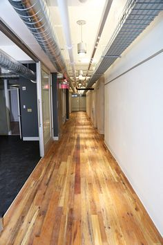 American Gothic - Mixed Hardwoods is used in a SUNY school's renovation project. American Gothic, Minimalism, Hardwood, Stairs, Gallery, Design, Home Decor, Natural Wood, Stairway