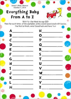 Printable Personalized Dr. Seuss Everything Baby by TwoPartyDivas
