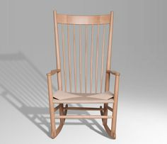 Wegner's Rocking Chair £877 from Designers Revolt. Original quality designer classics at a fraction of the high street price. Join the Designers Revolt!