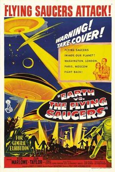 Earth vs. the Flying Saucers (Australian) 27x40 Movie Poster (1956)