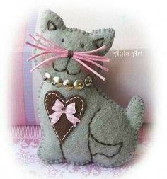 felt cat. Unable to locate on website.