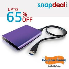 Hard Disks - Upto 65% off at #Snapdeal! Grab the best deal : http://www.couponcanny.in/snapdeal-coupons/