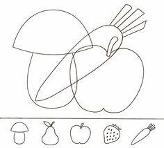 figura fondo para niños - Google keresés Hidden Pictures, School Worksheets, Bingo Cards, Art Lessons Elementary, Learning Through Play, Food Coloring, Teaching English, Pre School, Preschool Activities