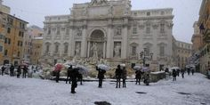 Roma se viste de blanco con inusual nevada - EL DEBATE #757LiveMX