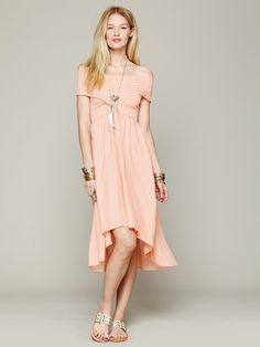 Free People Smocked Hi-Low Dress, £24.95
