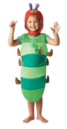Rubie's Very Hungry Caterpillar Fancy Dress for Toddlers: Rubies: Amazon.co.uk: Toys & Games