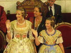 Carla y Begoña, las nuevas reinas de nuestra fiesta.