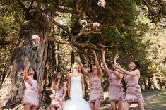 A beautiful Wedding in Canmore by the talented Signature Weddings by Ashley Magical Wedding, Bridesmaid Dresses, Wedding Dresses, Summer Wedding, Take That, Golf, Weddings, Beautiful, Fashion