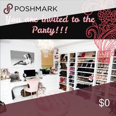 HOSTING MY 2nd PARTY!!! Hi friends!!! I would like to invite all of you to the party I'll be hosting tomorrow !!! I'll let you know the theme as soon as the poshmark team inform me! Please share this listing so that this Party, with all your help, becomes a success!!! And... of course I'll look into your closets to select host picks! Thank you 😊 💞💕💞💕💞 Other
