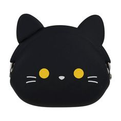 The Mimi Pochi Black Cat Coin Purse is as #cute as the rabbit. It's just that not everybody likes bunny's. So here's the cat.