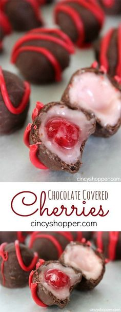 Chocolate Covered Cherries Recipe- So simple to make at home! This recipe includes the secret ingredient needed to make them gooey! Plus they are the perfect candy to gift for the holidays!