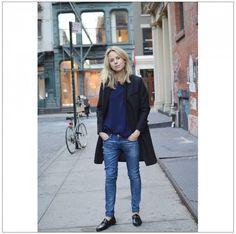 Everyday Uniform (Elin Kling The Wall)   Elin kling, Blue