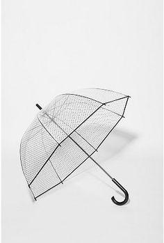 UrbanOutfitters.com | Printed Bubble Umbrella - StyleSays