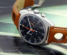 1970s Lemania Speedmaster 120m.  If my typing gets all wonky, it's because I'm drooling with desire for this watch.