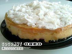 muc.veg: Veganer Kokos-Oreo-Cheesecake mit Himbeeren