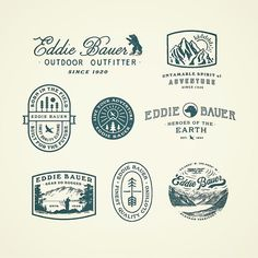 Recent assorted graphic treatments for Mr Bauer by curtisjinkins Design Logo, Web Design, Vintage Logo Design, Badge Design, Brand Identity Design, Graphic Design Typography, Branding Design, Vintage Graphic, Typography Logo
