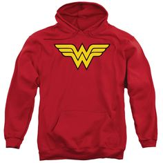Wonder Woman: Wonder Woman Logo Hoodie