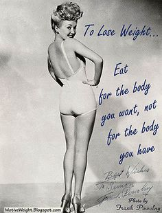eat for the body you want