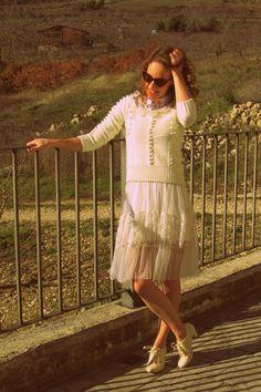 Cream Lace | Women's Look | ASOS Fashion Finder #chicwish http://www.missredcape.com/2014/12/las-tradiciones.html