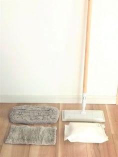 ありがとう無印良品!床掃除にはこのモップ以外なにもいらない Household Chores, Muji, Clean Up, Housekeeping, Woodworking Plans, Life Hacks, Storage, Simple, Interior
