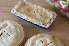 Annapolis Valley Apple Pies – Momma's Ol' School Pastry School, just made these again yesterday X 2!