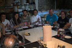 Evento de VINOS de A Ribeira Sacra en A Faragulla, Chantada.