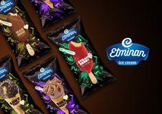Etminan Ice Cream on Packaging of the World - Creative Package Design Gallery