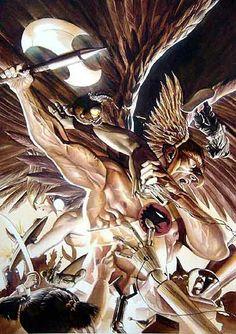 Hawkman by Alex Ross
