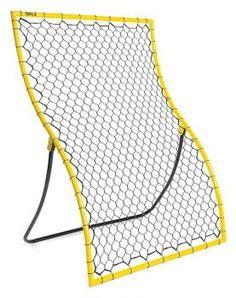 Enthusiastic Rebounder Pitch Back Net Kit Team Sports Baseball Softball Practice Partner Solo Trainer