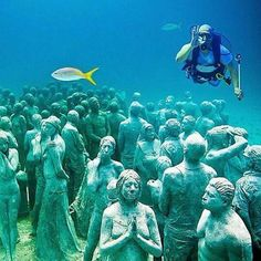 Museu subaquático . México
