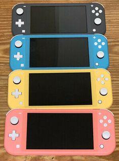Nintendo Lite, Nintendo Switch System, Nintendo Switch Games, Super Nintendo, Nintendo Switch Accessories, Original Nintendo, Video Game Rooms, Only Play, Cute Gif