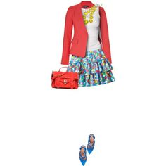 RaRa Skirts are always so pretty and this outfit is so colourful and stylish!
