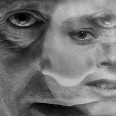Rus Khasanov17 Gradient Mesh, Graphic Design Projects, Lee Jeffries, Portraits, Illustration, Head Shots, Illustrations, Portrait Photography, Portrait Paintings