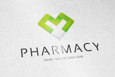 PHARMACY logo by vectorlogos89 on @creativemarket