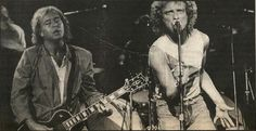 Lou Gramm and Mick Jones, Foreigner
