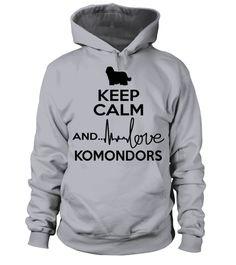 # KC-Love-Komondor-B .  Keep Calm And Love KomondorKomondors, Komondor Shirt, Komondor Hoodie, Komondor Sweater, Komondor Lover