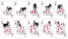 Pack of Dogs Playing Cards || Artiphany