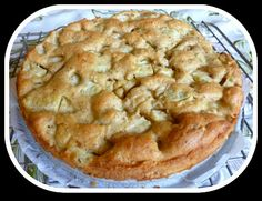 Delicious Apple Cake - more apple than cake, this cake is still acceptable as an occasional treat with carbs 8.7 g per serving.