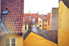 rooftops (Copenhagen, København, Danmark, Scandinavia, Danish, Denmark, travel, Europe, city, capital, visit, beautiful, cool, awesome)