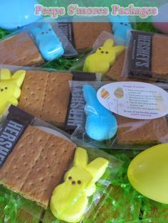 Peeps Easter S'mores