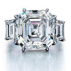 Stunning Royal Asher cut diamond #ring #jewelry
