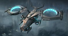 ArtStation - Vtol Drone, Luc Fontenoy - Miriam Andrews Photo Page Spaceship Art, Spaceship Design, Muse Drones, Rpg Cyberpunk, Me262, Starship Concept, Sci Fi Spaceships, Flying Vehicles, Attack Helicopter