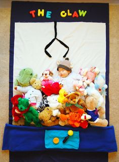 sleeping baby claw prize